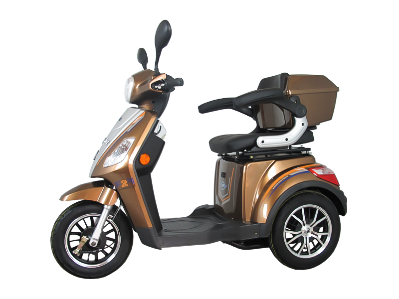 Electric scooter turn problem