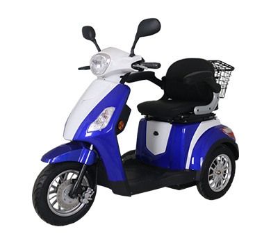 Electric scooter road rights problem