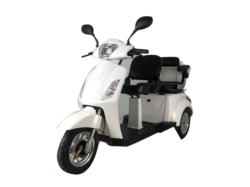 What should we do if the battery of the electric scooter is broken